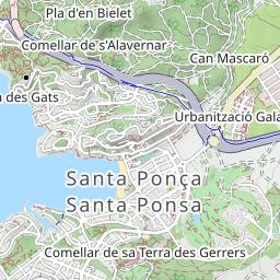 Mallorca Karte Paguera.Cap Andritxol Wandern Mallorca Tourentipp Com