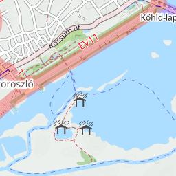 magyarország térkép poroszló Poroszló Magyarország kerékpárút térkép magyarország térkép poroszló