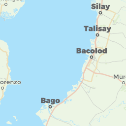 Bacolod City Philippines Offline Map For IPhone IPad IPod Touch - Bacolod map