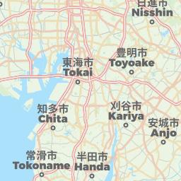 Yokkaichi Japan Offline Map For IPhone IPad IPod Touch - Japan map offline